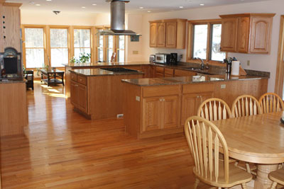Commercial Kitchen  Lease on Art Gourmet Kitchen Including A Double Oven Commercial Side By Side